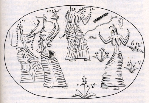 Dancing Bee Goddesses