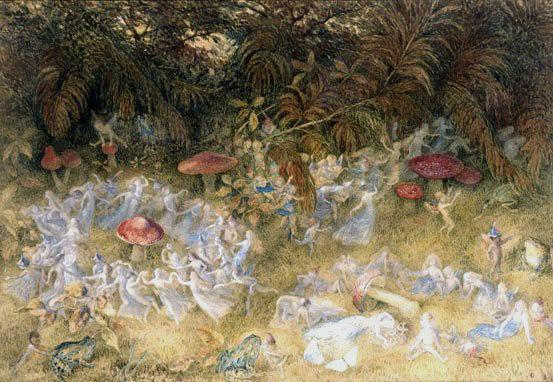 Fairy_Rings_and_Toadstools_Richard_Doyle